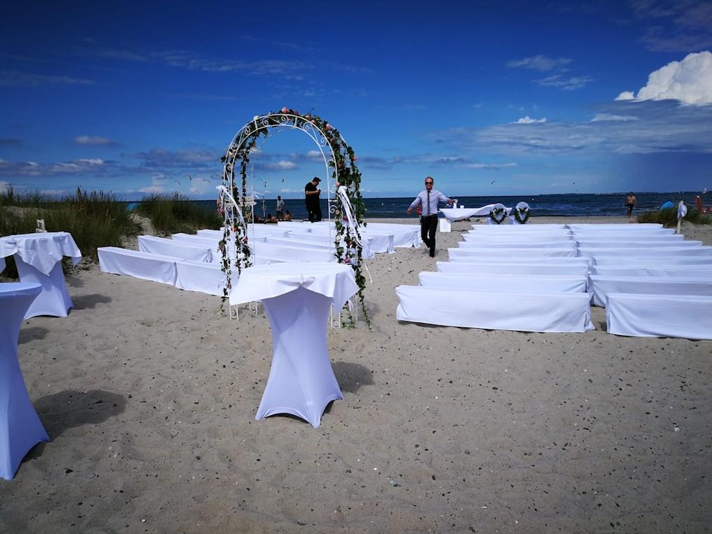 Hochzeit Am Strand Von Heiligenhafen Ostsee Catering